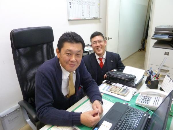 梶本君には、当社のホームページ制作から始まって、地域密着型営業の実践方法について提案して貰っています。