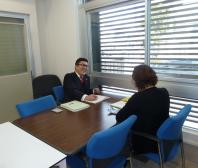 梶本さんとは月に一回、当社に来て頂いてのアクセス解析でお話しさせて貰っています。