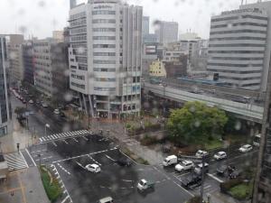 雨の北堀江