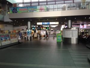 高松駅改札
