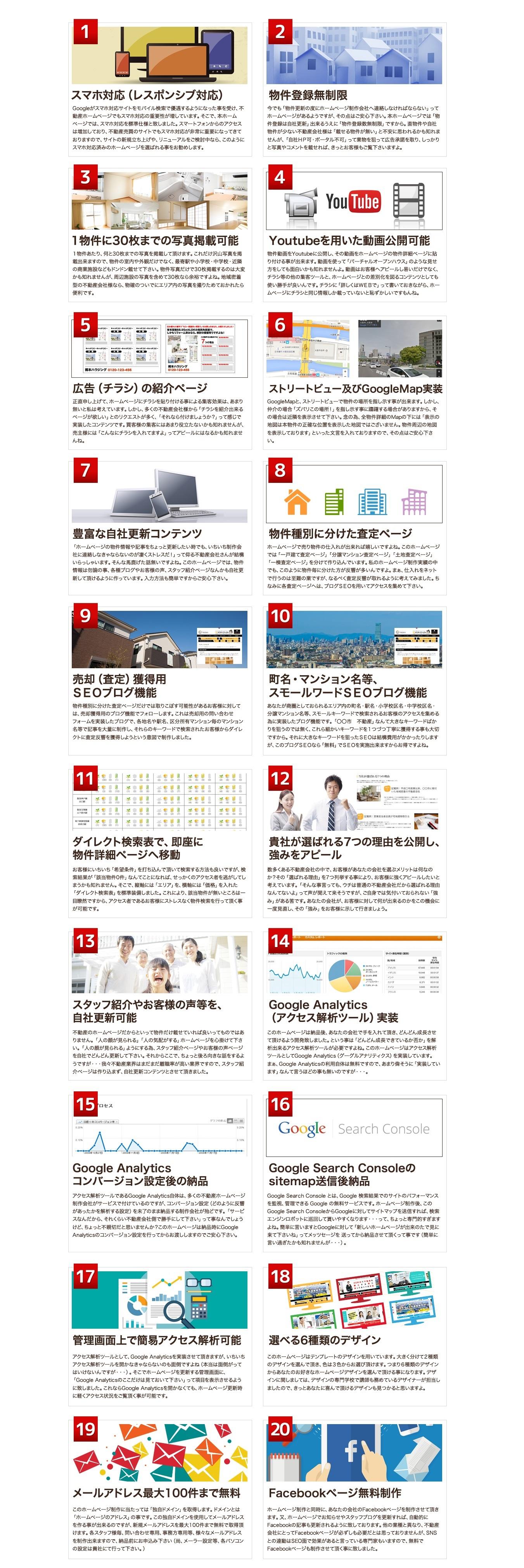 沖縄で反響の取れる不動産売買仲介HPを格安で制作|その機能とは?