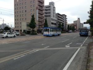 熊本市内路面電車