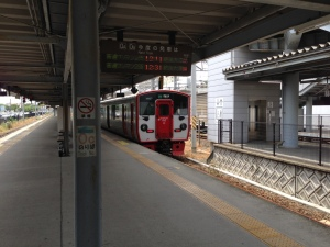 熊本駅在来線ホーム
