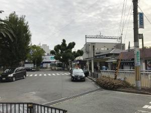 2017.10武庫之荘駅前