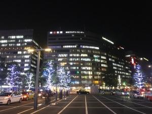 2017.11JR博多駅前