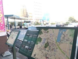 2018.02松山駅前