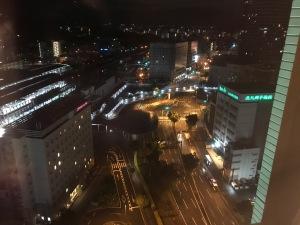 2018.04夜の熊本駅