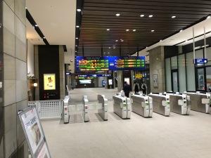 2018.04熊本駅改札