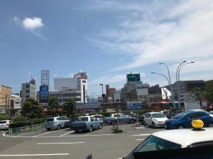 2018.08松山駅